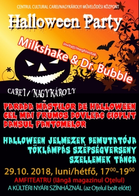 Balul Dovlecilor- Hallowen Party